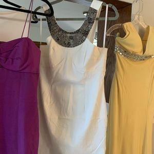 NWOT: Boston Proper White Dress size Med